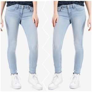 Levi's 535 Super Skinny Light Blue Jeans
